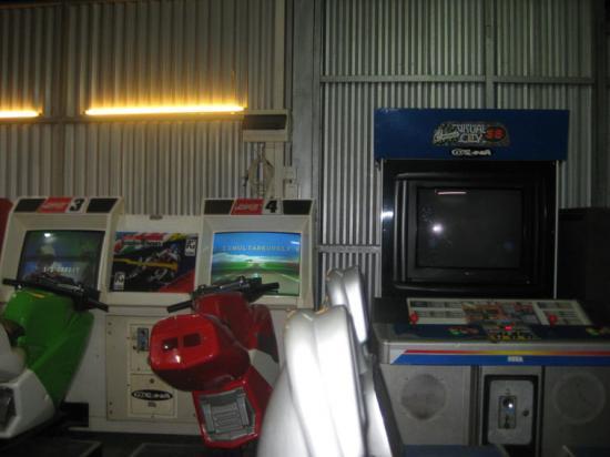 Une salle d'Arcade à l'autre bout du Monde