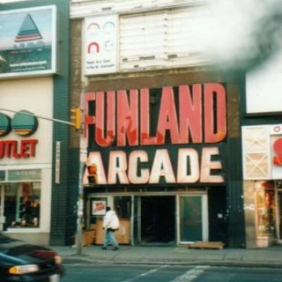 Salles d'arcades