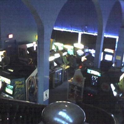 Salle d'arcade