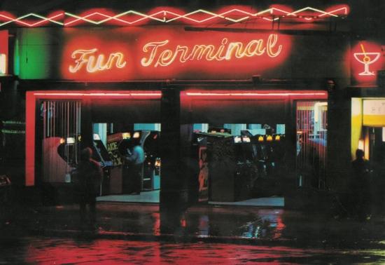 Salles d'arcade
